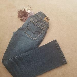 American Eagle Kick Boot Jeans size 2